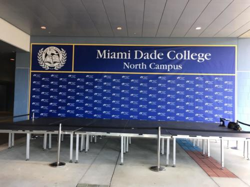 Backdrops, Super-wide Format Banners
