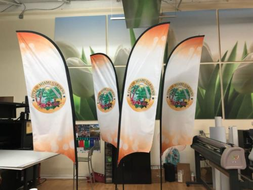 Promo Flags Promotional Dye-sub Sublimation